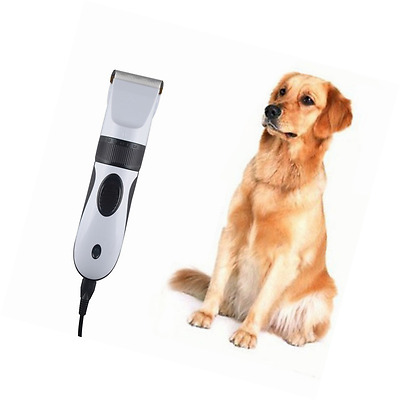 Heavy Duty Pet Dog Hair Trimmer Clipper Electric Cat Grooming Hair Cutter Shaver