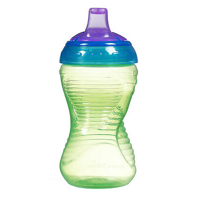 Munchkin Feeding Mighty Grip Sippy Cup - 10 oz (Blue,Green, Orange & Pink)