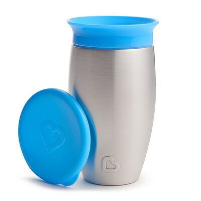 Munchkin Miracle® Stainless Steel 360° Sippy Cup - 10oz