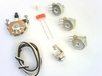 True Custom Shop® 5-Way Strat Wiring Kit For Fender Stratocaster CTS Switchcraft