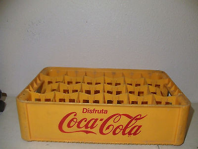 Old Mexican Coca Cola 24 Bottle Plastic Carrier Coca Cola Mexico