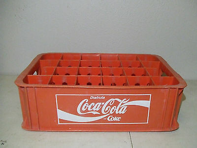 Old Mexican Coca Cola 24 Bottle Plastic Carrier Coca Cola Mexico #2