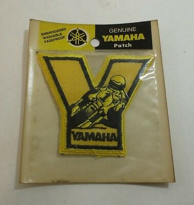 Vintage OEM Yamaha Road Race Patch Kenny Roberts