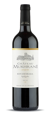 Chateau Mukhrani  KHVANCHKARA  Semi Sweet Vintage Red WINE 2013
