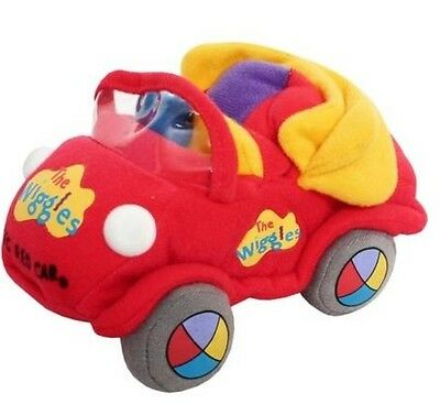 The wiggles Big red car Plush doll Child Toy collection