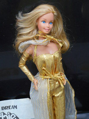 1980 Superstar Golden Dream Barbie Doll in Original Outfit + Accessories Lot