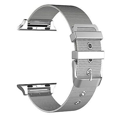 Apple Watch Band 38mm Milanese Loop Stainless Steel Strap for Series 1/2 Watch