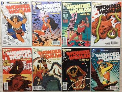 Wonder Woman #0 - #49 (2011 NEW 52 DC) 50 X issues, all 1st prints, all VF or NM