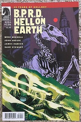 B.P.R.D. Hell On Earth - 20 Years Of Hellboy #116 Dark Horse Comics - By Mignola