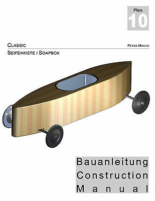 Seifenkiste Bauplan Soapbox Construction Manual PDF