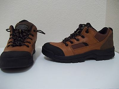 Mint Timberland Women's Performance Act Bsfp Brown Leather Hiking Shoe Boot 7M