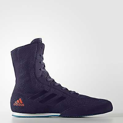 Adidas Boxing Box Hog Plus Boxing Boots  - Petrol Blue