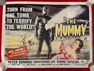 The Mummy-  Uk  Quad  Repro  Poster.30 X 40  Inches .rolled