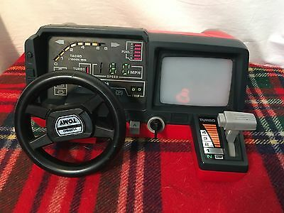 Vintage TOMY Turnin Turbo Dashboard Toy Driving