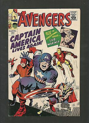 Avengers #4 Golden Record Reprint Silver Age Iconic Classic High Grade