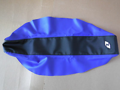 One Industries Full Traction gripper seat cover Yamaha  YZ450F 2010-2013 blk/blu
