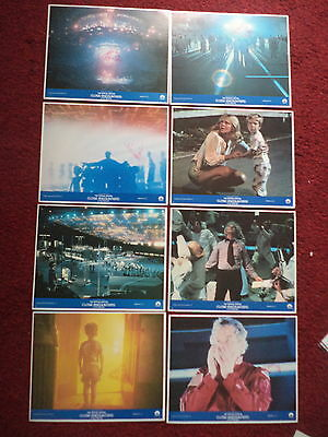Close Encounters of the Third Kind Special Edition RARE USA set of 8 lobby cards