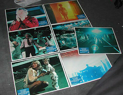 Close Encounters of the Third Kind Special Edition RARE USA LARGE lobby cards x7