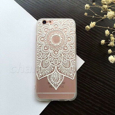 Wholesale 100x Mixed  patternFlower  Hard/Soft Case For iPhone Samsung Sony