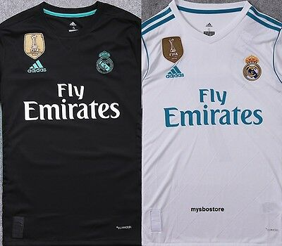 Final Cardiff 2017 Real Madrid Football Soccer Shirt Jersey Ronaldo Ramos Bale