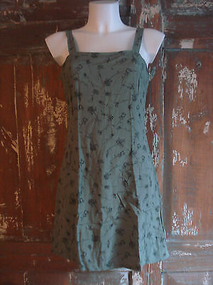 Robe Vintage American Eagle Outfitters Vert Année 1970/1980 Taille 34/36