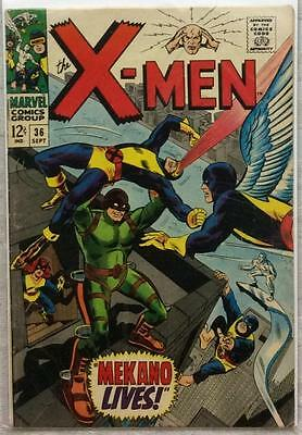 X-Men #36 (1967 Marvel) Silver Age. FN condition.