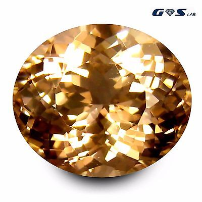5.12 ct GSL Certified Cut (12 x 10 mm) Morganite Loose Gemstone