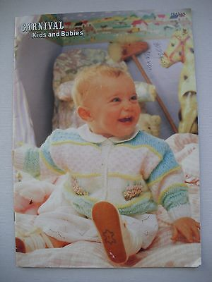 Carnival Pattern Book 9WB2 - Kids and Babies - Baby Knitting
