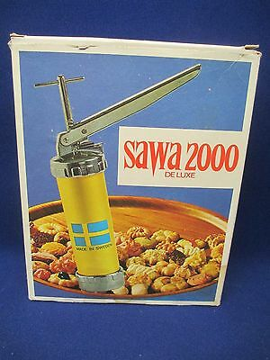SAWA 2000 Deluxe Cookie Press