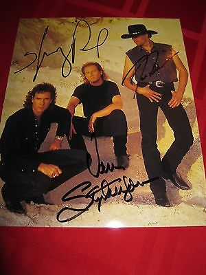BLACKHAWK signed autographed Band Photo Very Nice 8x10!