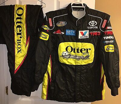 MD 33W x 32L Nascar Firesuit SFI Nomex RED HORSE RACING OTTERBOX CREW DRIVER