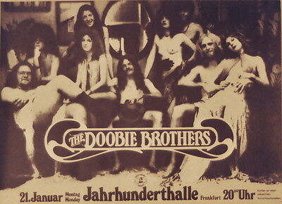 The Doobie Brothers Concert Tour Poster 1973 Toulouse Street
