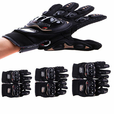 Full Finger Touch Screen Motocross Racing Motorcycle Cycling Protective Gloves