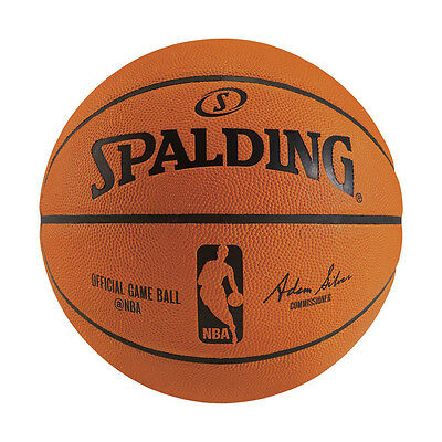 Spalding Official Nba Game Series Basketball Indoor Size 7