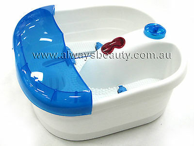 Hot Spring Massage Footbath Foot Spa Bubble and Roller Massage Pedicure Care