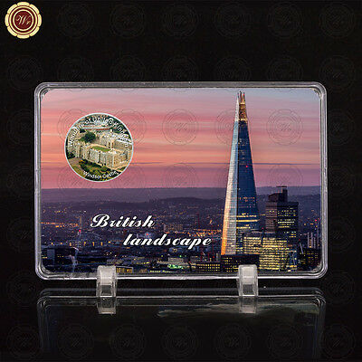 WR Wonders of Britain Windsor Castle Silver UK Foreign Coin Collectors & Display