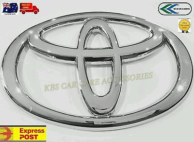 TOYOTA BADGE NEW  CHROME  FOR TOYOTA HI ACE 110mm  HIGH QUALITY