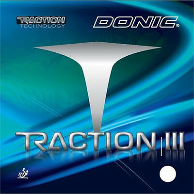 Donic Traction III Table Tennis Rubber (New!!)