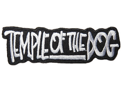 TEMPLE OF THE DOG Embroidered Iron On Sew On Pearl Jam Jacket Badge Patch