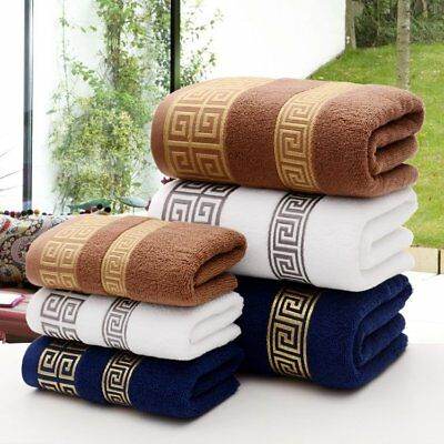 New Luxury Cotton Towels Soft Absorbent Bath Sheet Hand Bathroom Washcloth Beach