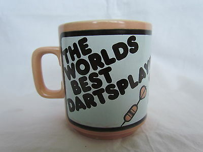 Rare Collectable Hornsea The Worlds Best Darts Player Mug By John Clappison