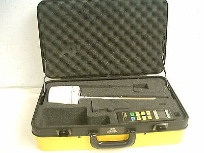 Narda Model 8712 RF Survey Meter for Spares Repairs with 8741D