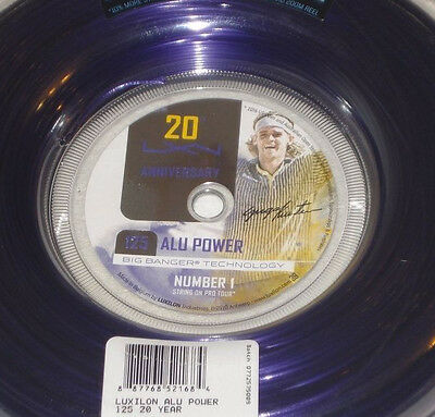 Luxilon ALU Power purple 1.25 220m/726ft (reel) 20 year anniversary - Gustavo