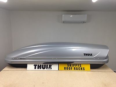 Thule Motion Sport 600 Roof Box Silver Gloss