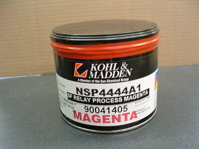 Offset Printing Ink----  Process Magenta ---- 5lb. unopened can of oil base