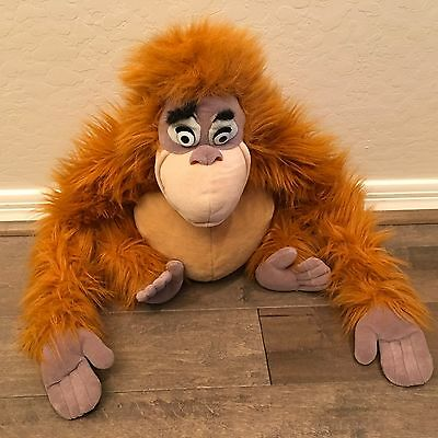 Walt Disney Company Jungle Book King Louie Plush Orangutan Large