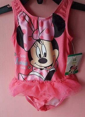 brand new mini the mouse swimming costume size 9-12 months