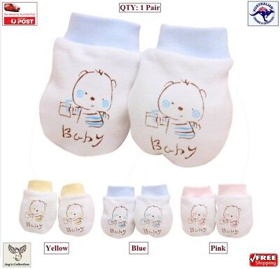 Baby Boy Girl Anti Scratch Infant Warm Gloves Cartoon Mittens Unisex [A6M2~A6]
