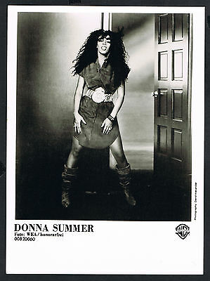 Donna Summer, Sängerin-music-Musik, Songwriter, Pressefoto, press photo /118a