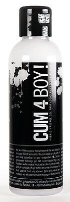 Cum 4 Boy! Hybrid Cum Like Waterbased & Silicone SPUNK Lubricant 100 ml